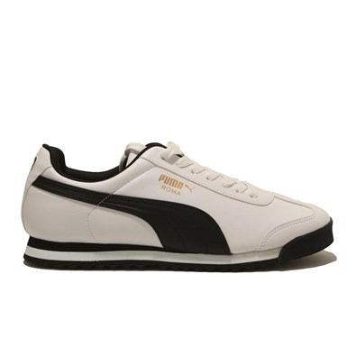 Puma Roma Basic White-Black