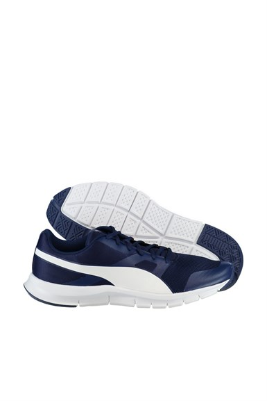 Unisex Ayakkabı - Flexracer Blue Depths-White - 36058031